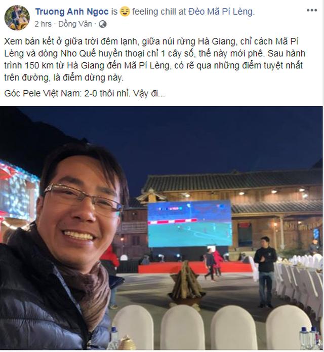 Lạc giọng vì cổ vũ bóng đá ở nơi đặc biệt nhất Việt Nam - 2
